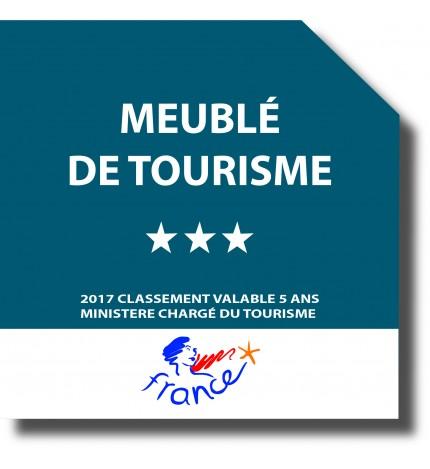 Panonceau de classement meuble de tourisme